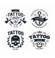 Tattoo Emblems 2 vector image