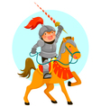 knight small vector image vector image