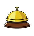 concierge bell vector image