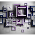 Background with squares vector image