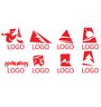 Logo designs vector image