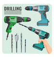 drilling machine of electro