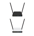Wifi router vector image