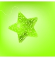 Cute star background vector image vector image