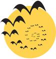 Moon bats vector image