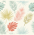 summer retro pattern vector image