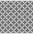 Seamless geometric pattern in modern hipster style vector image