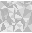 Grey triangle background or flat seamless pattern vector image