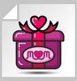 mothers day icons 2 vector image