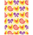 Floral pastel backgrounds vector image vector image