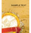 vintage gold label vector image vector image