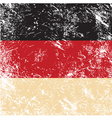 Germany retro flag vector image