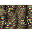 Abstract Wave Zebra Pattern Background vector image vector image