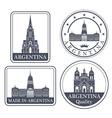 Argentina vector image