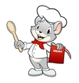 Chef Mouse vector image