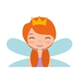 cute Fairy Godmother character vector image