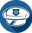 Police Hat Icon vector image