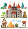 Medieval kingdom element vector image