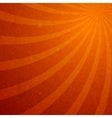 Sunburst spiral wallpaper vector image