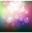 Blurred abstract background with candle lights vector image