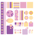 Floral Decorative Design Element vector image vector image