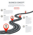 business and progress concept vector image vector image