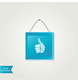 Like icon isolated vector image