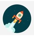 Rocket Start up concept vector image