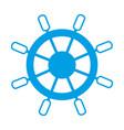 rudder icon image vector image