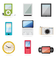 Equipment icons vector image vector image