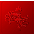 holiday frame happy valentines day vector image