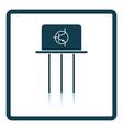 Transistor icon vector image