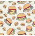 Cheeseburgers vector image