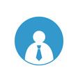 Businessman-Icon-380x400 vector image vector image