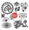Chinese Design Elements vector image