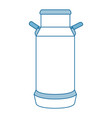 cow milk can icon vector image