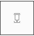 dijital photo camera icon vector image vector image