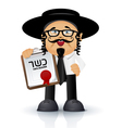 jewish - orthodox vector image