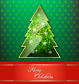 Christmas decorative wallpaper vector image
