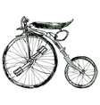 Painted Bicycle3 vector image