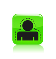 protection concept icon vector image