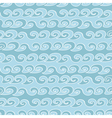 seamless pattern with waves - vector image vector image