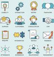 Customer relationship management - part 2 vector image