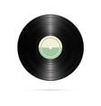 realistic vinyl record retro design vector image