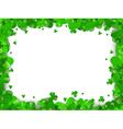 Saint Patrick Day Frame vector image vector image