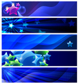 stars banners vector image