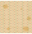 seamless polka dot pattern vector image