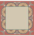 pattern frame vector image vector image