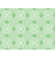 pattern with four leaf shamrock vector image