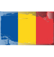 Romania national flag vector image vector image